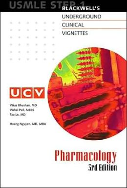 Blackwell's Underground Clinical Vignettes - Pharmacology: USMLE Step 1