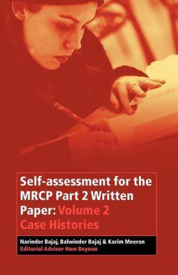 Self-Assessment for the MRCP P2 V 2