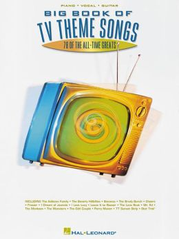 Big Book of TV Theme Songs - Piano/Vocal/Guitar