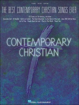 Best Contemporary Christian Songs Ever - 50 Songs by Top Artists - Piano/Vocal/Guitar