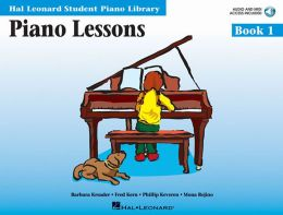 Piano Lessons, Book 1 (Hal Leonard Student Piano Library Series)