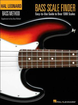 Bass Scale Finder: Easy-to-Use Guide to Over 1,300 Scales