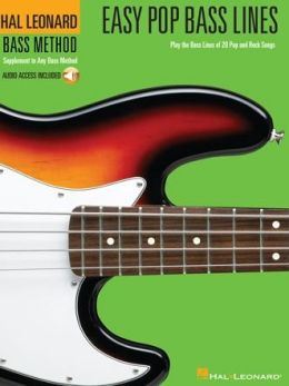 Easy Pop Bass Lines - Play the Bass Lines of 20 Pop and Rock Songs