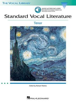 Standard Vocal Literature: An Introduction to Repertoire