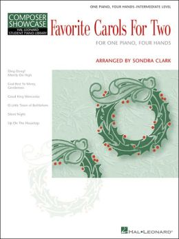 Favorite Carols for Two: 1 piano, 4 hands