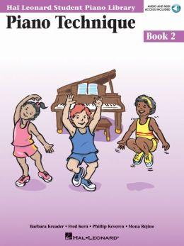 Piano Technique Book 2 - Book/CD Pack: Hal Leonard Student Piano Library