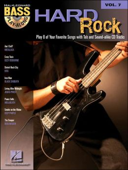 Hard Rock Bass Play-Along - Volume 7