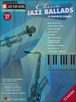 Classic Jazz Ballads - Jazz Play-Along Series