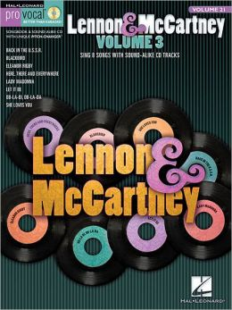 Lennon & McCartney - Volume 3: Pro Vocal Men's Edition Volume 21
