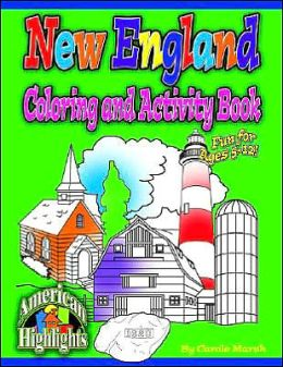 New England Coloring and Activity Book
