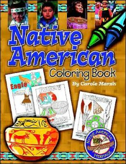 The Native American Heritage Coloring Book
