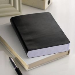 Black Soft Bound Medium Journal