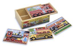 Vehicles Jigsaws in a Box