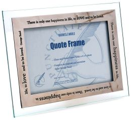Happiest Moments Metal Finish Quote Frame (4