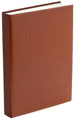 British Tan Italian Leather Hardbound Journal (9