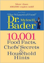10,001 Food Facts: Chef's Secrets and Hints