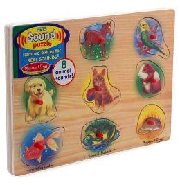 Pets Sound Peg Puzzle