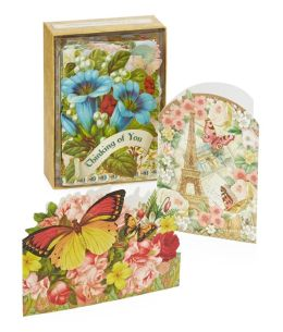 Ephemera Boxed Notecards -Set of 24 Assorted