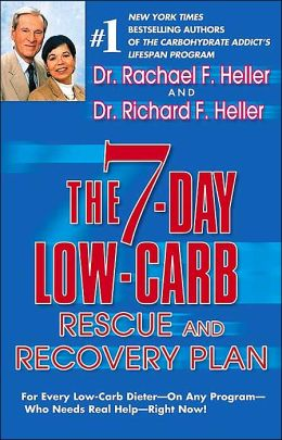 The 7-Day Low Carb Rescue and Recovery Plan: For Every Low-Carb Dieter on Any Program Who Needs Real Help - Right Now