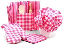 Deluxe Chef Set Pink