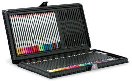 Artist's 78-Piece Pencil Set in Black Vinyl Case