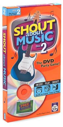 Shout About Music DVD Game Disk 2
