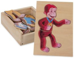 Curious George Moody Puzzle