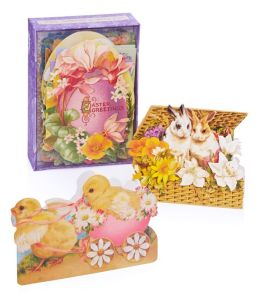 Ephemera Easter Boxed Notecards - Set of 24