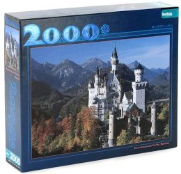 2000 piece Scenic Puzzle Assortment