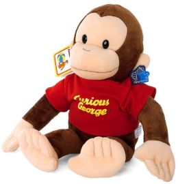 Curious George Classic Plush: 16 inch doll