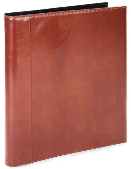 Sienna Deluxe Portfolio Leather Binder Book 8.5x11