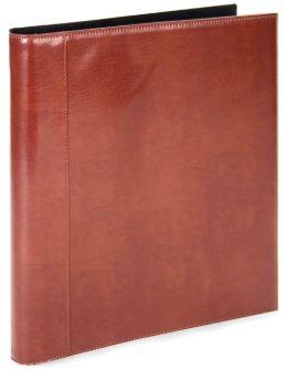 Sienna Deluxe Portfolio Leather Binder Book 8.5x11
