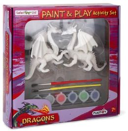 Dragons Paint and Play Set