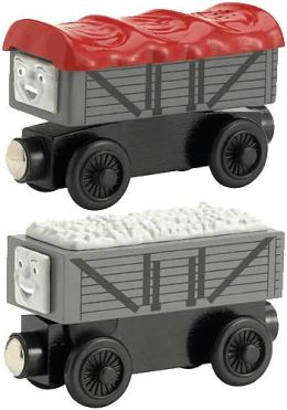 Thomas & Friends Wooden Vehicles - Giggling Troublesome Trucks