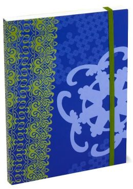 Blue and Green 6x8 Flexi Bound Journal