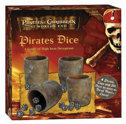 Pirates of the Caribbean at World's End Pirates Dice