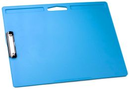 Light Blue Jumbo Lapdesk with Clip