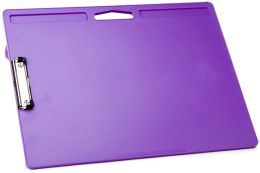 Purple Jumbo Lapdesk with clip