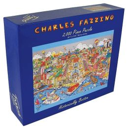 BOSTON-Historically Boston Fazzino 2000 Piece Puzzle (B&N Exclusive)
