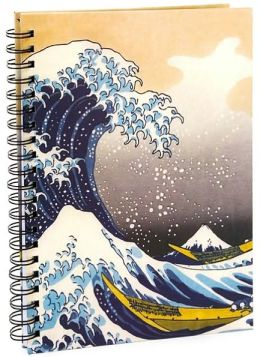 Large Hokusai Wave Journal