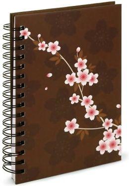 Petals on Brown Journal - Medium