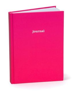 Hot Pink Basic Lined Journal (7
