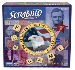 Presidential Scrabble Democrats vs. Republicans Board Game