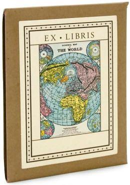 Vintage Map Bookplates