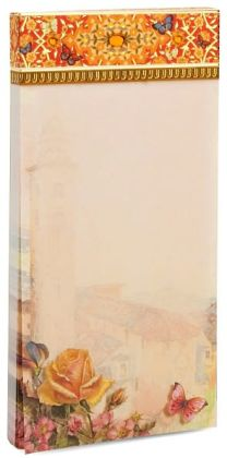 Venice Floral Large Magnetic List Pad