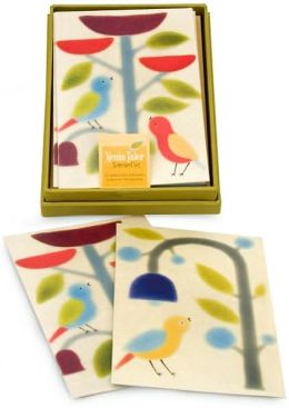 Xenia Birds with Trees Notecards -Set of 10