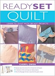 Ready, Set, Quilt: Learn to Quilt with 20 Hot Projects