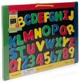 Product Image. Title: Magnetic Chalkboard/Dry-Erase Board