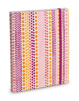 Jonathan Adler Weight Pink & Orange Flexi Journal (6'x8