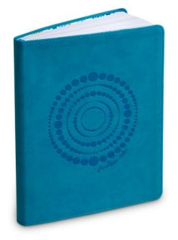 Jonathan Adler Dot Swirl Teal Soft Journal (6